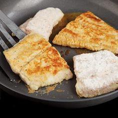 Easy Sautéed Fish Fillets Recipe    Per serving: 163 calories; 8 g fat ( 2 g sat , 5 g mono ); 43 mg cholesterol; 8 g carbohydrates; 0 g added sugars; 13 g protein; 0 g fiber; 368 mg sodium; 249 mg potassium.
