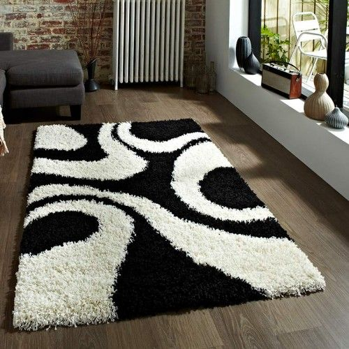 Vista 1239 Black Cream Rug With Fast Free Uk Delivery Best Prices Online Guaranteed