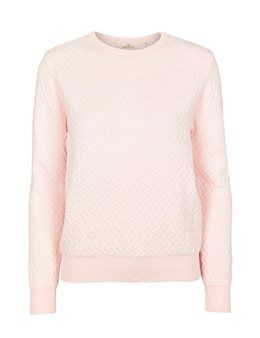 7ee70b0df4e Basic Apparel Tea Striktrøje - Rosa | Sweaters I like | Messages