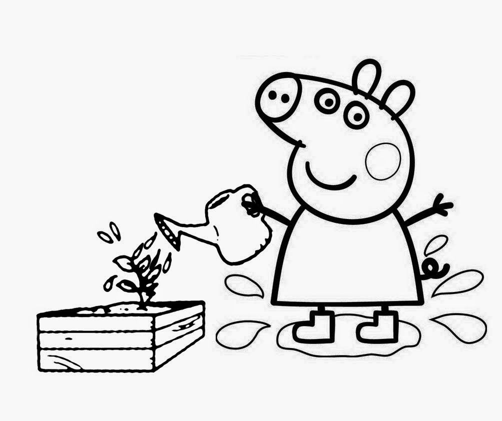 Colouring pages peppa - Comment To Peppa Pig Coloring Pages Memes Pictures