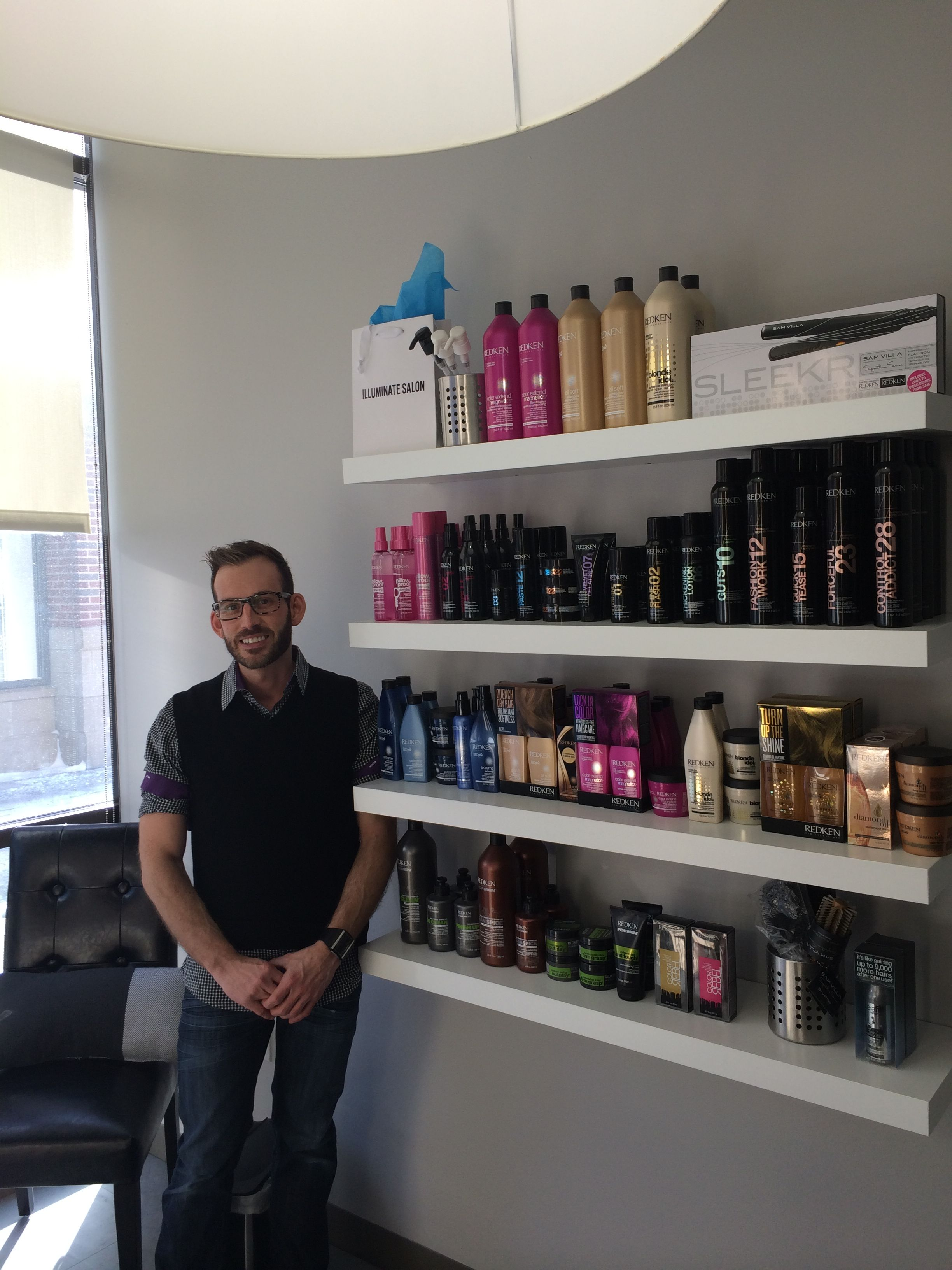 """Salon Lofts Westgate Loft Owner Louie Leonetti says """"I love my freedom, choosing my own products!! I enjoy my community at Westgate. Being my own boss. Salon Lofts Rocks!"""" #salonlofts #salonloftscleveland #louieleonetti #freedomfriday"""