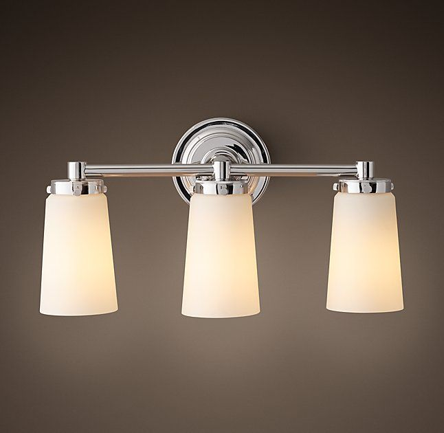 Asbury Triple Sconce Girls Bathroom Lights Pinterest Bath - Triple sconce bathroom lighting