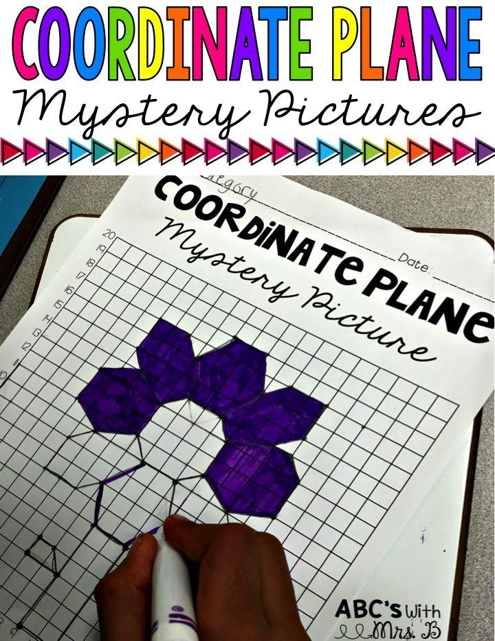 Coordinate Planes Mystery Pictures Quadrant 1 Teacher