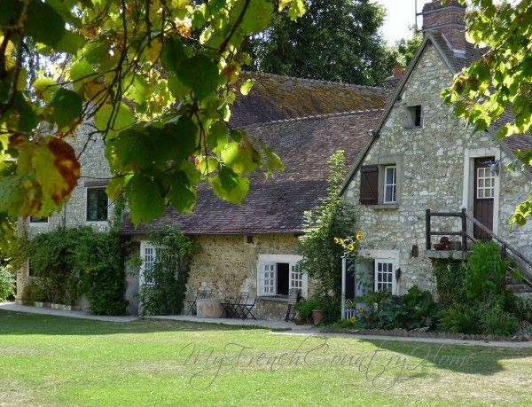 My French Country Home, French Living - Sharon SANTONI La Dîme Giverny France