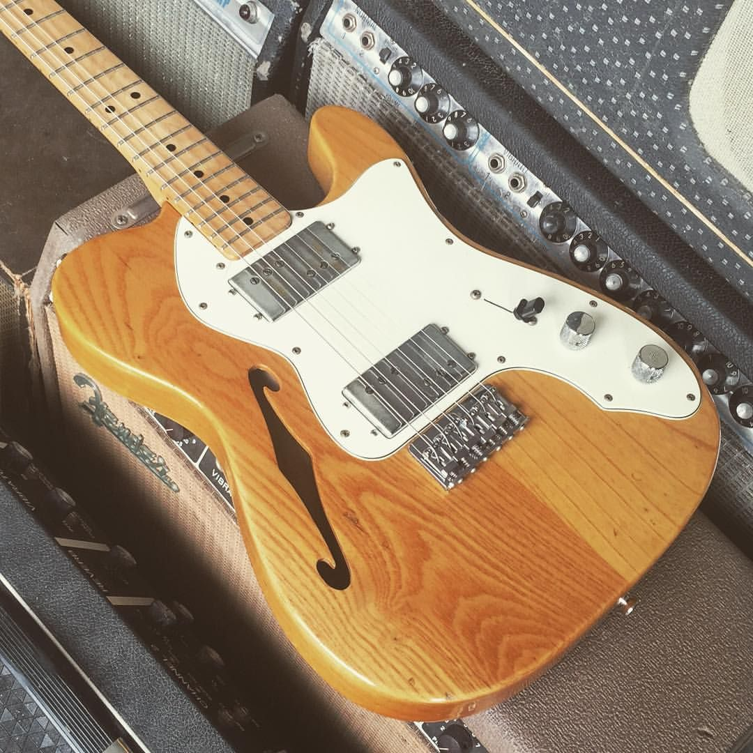 1973 Fender Telecaster Thinline With Some Real Pretty Grain On The Wide Range Humbucker Wiring Diagram Ive Heard Few Pickups That Have Clarity And Fullness Of Seth Lovers Design