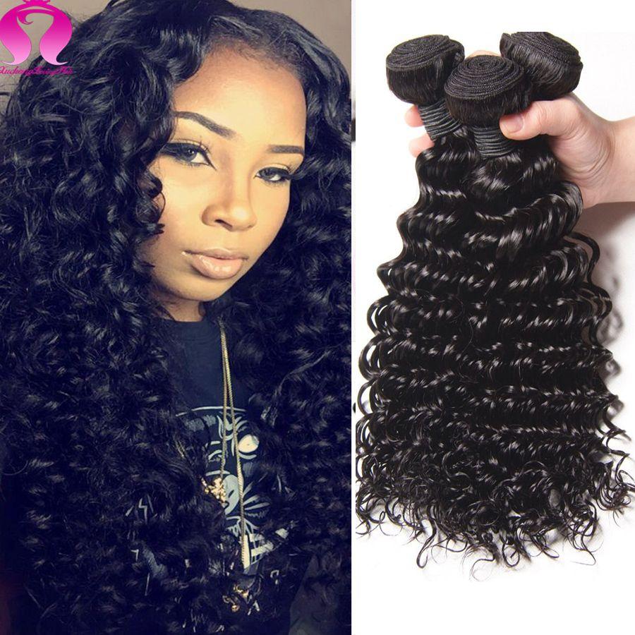Alibaba Peruvian Virgin Hair Deep Wave 100g Loose Deep Wave Kinky