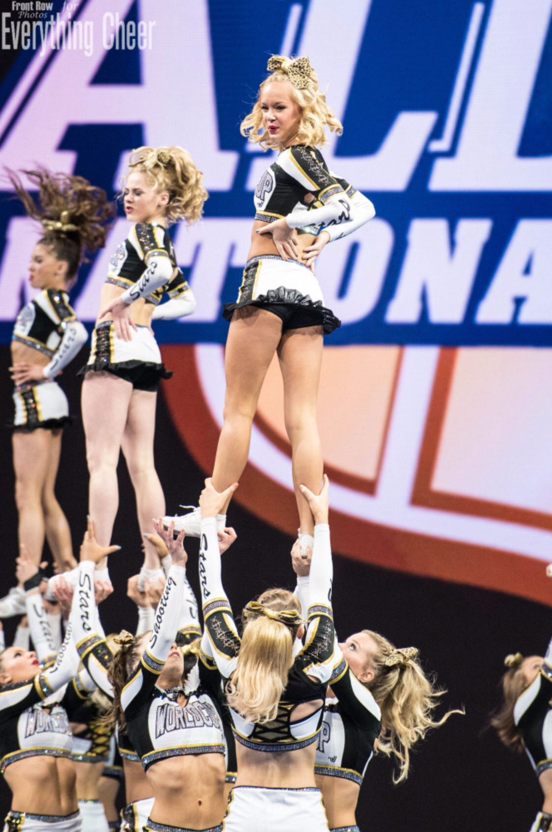 World Cup All Stars Shooting Stars Large Senior All Girl 2015 World Champions Cheer Pictures Cheerleading All Star Cheer
