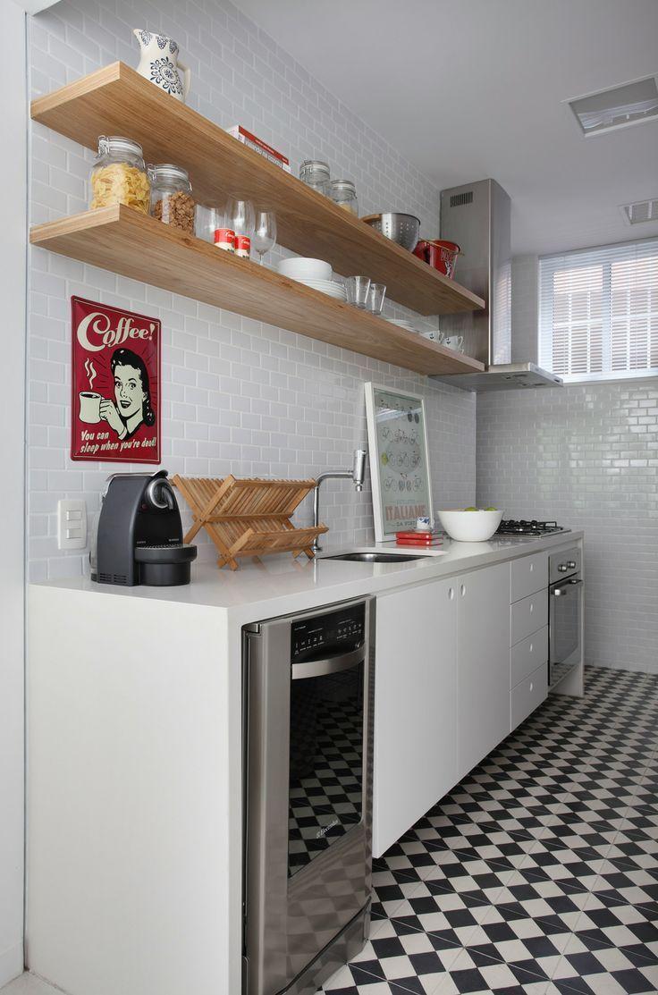 de colores diseo de cocina pequea - Cocinas Pequeas De Diseo