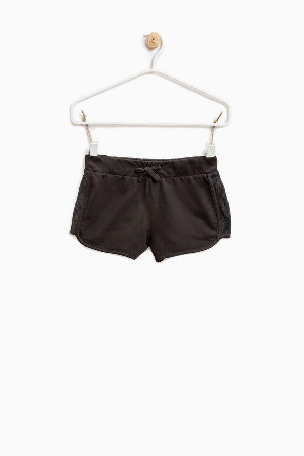 Shorts puro cotone con pizzo | OVS