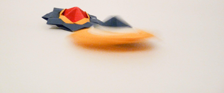 Origami spinning top crochet scarves pinterest spinning top origami spinning top jeuxipadfo Images