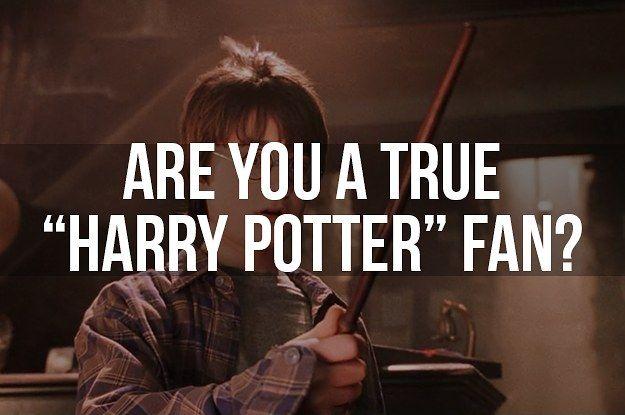 Are You A True Harry Potter Fan Harry Potter Fan Harry Potter Quizzes Harry Potter Quiz