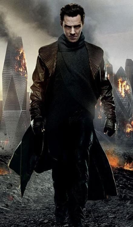 Khan A.K.A John Harrison played by Benedict Cumberbatch from the new star trek movie Into Darkness