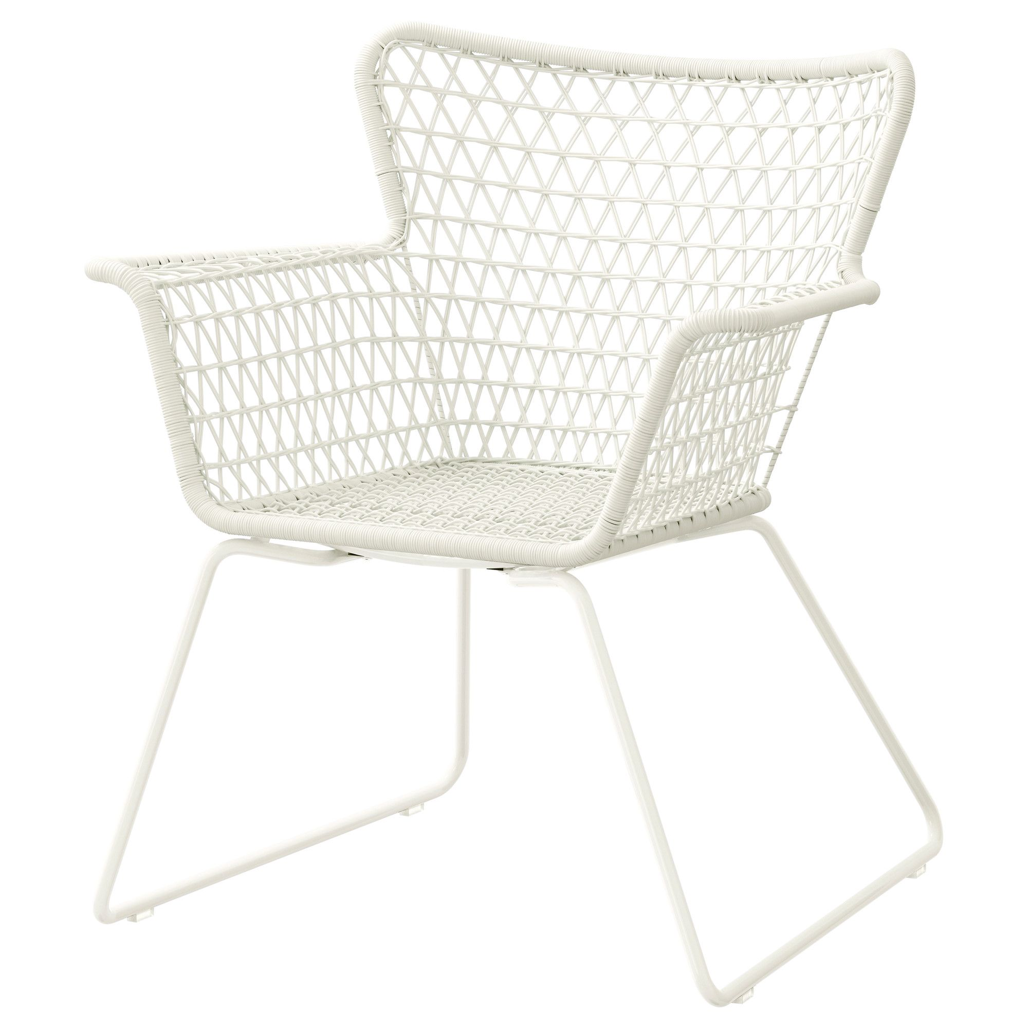 Hogsten Tuinstoel Wit With Images Ikea Outdoor Contemporary Outdoor Chairs Modern Patio Furniture