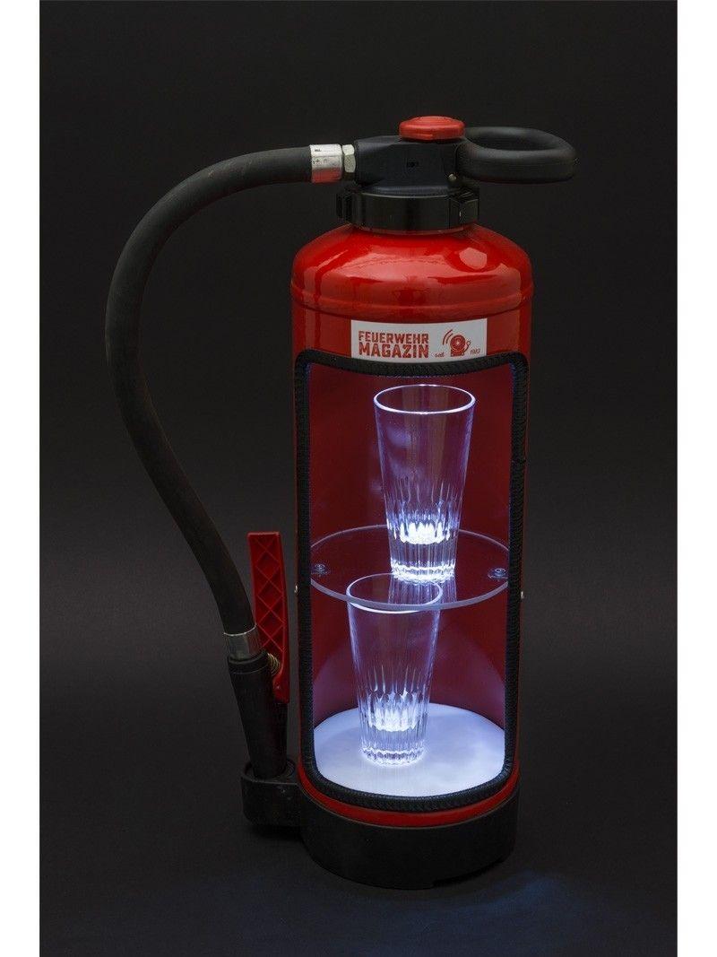 Feuerloscher Regal Mit Led Beleuchtung Feuerloscher Feuerwehr Geschenke Led Beleuchtung