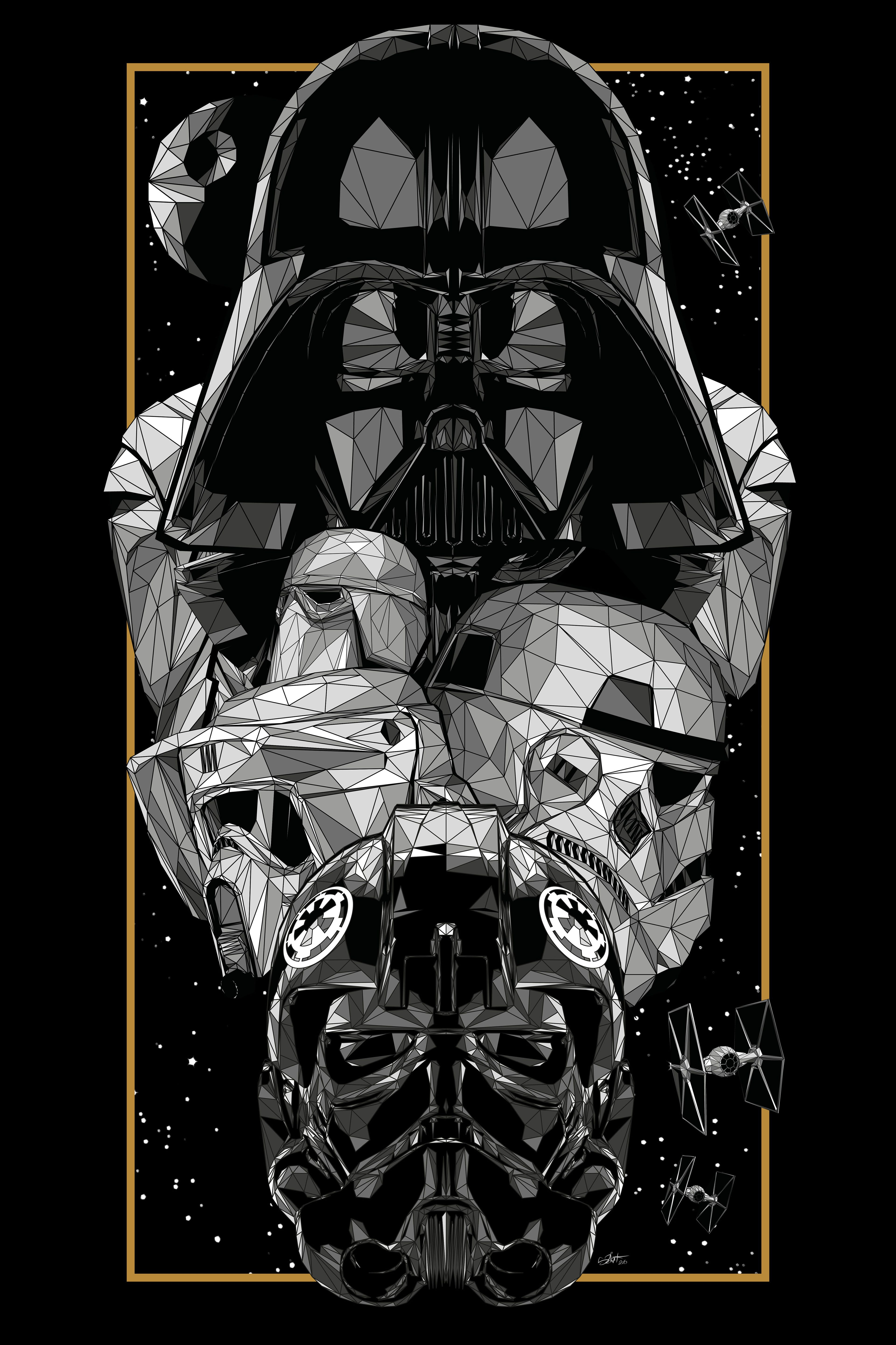 Official Illustration For The Exhibition Star Wars An Art Odyssey