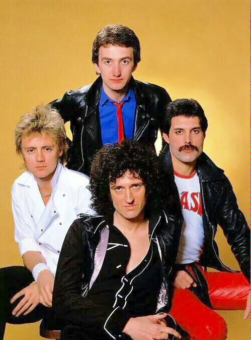Queen: John, Roger, Brian and Freddie