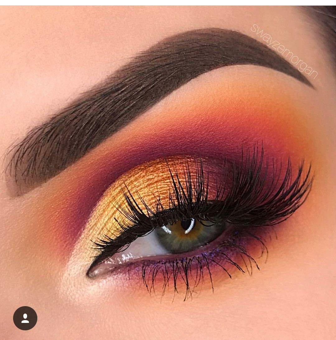 Www Facebook Com Makeupcelisorian Pop Makeup Eyeshadow Makeup Colorful Eye Makeup