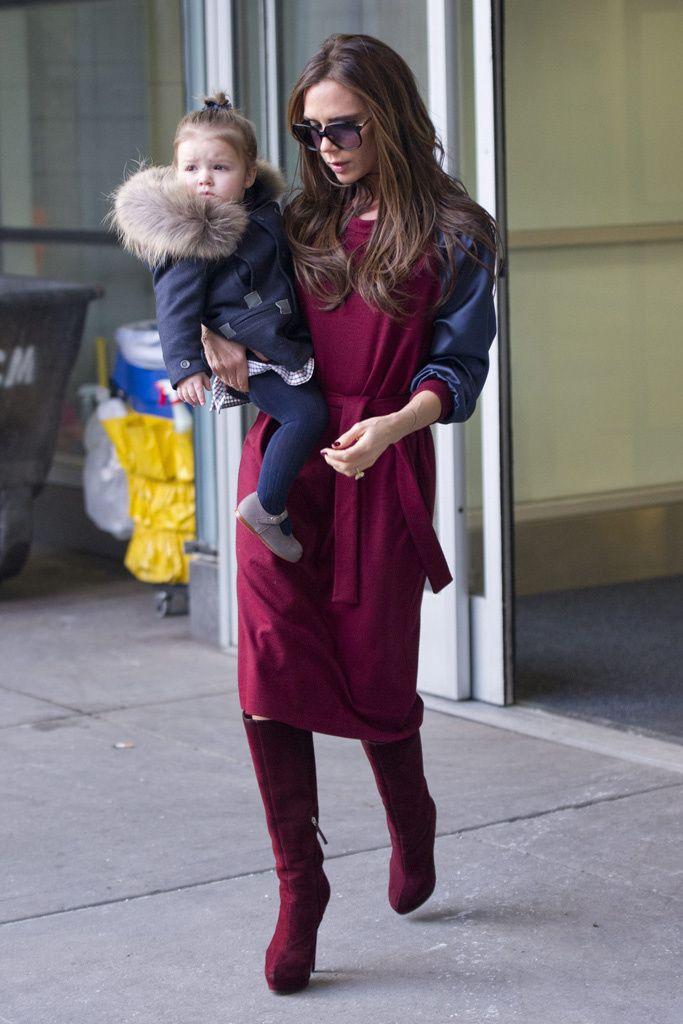 f71155c3a22d49 Harper Beckham llega a Nueva York para la Semana de la Moda | But ...