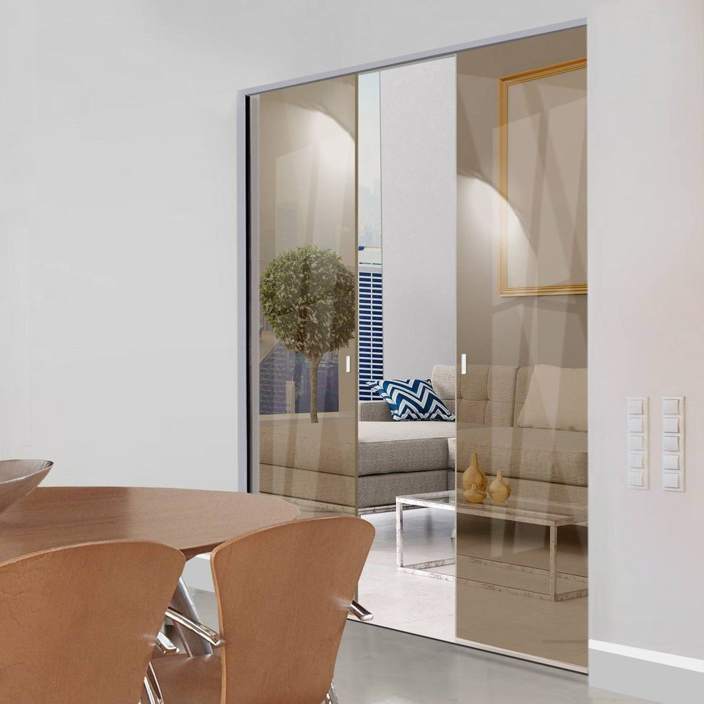Eclisse 10mm Bronze Tinted Glass Syntesis Double Pocket