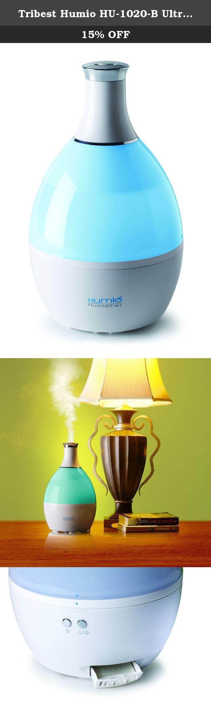 Tribest Humio HU 1020 B Ultrasonic Cool Mist Humidifier and