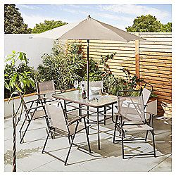 buy tesco hawaii metal garden furniture 8 piece set cappuccino from our metal garden furniture range at tesco direct we stock a great range of products at - Garden Furniture The Range