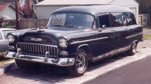1955 Chevrolet Hearse Station Wagon Cars 1955 Chevrolet