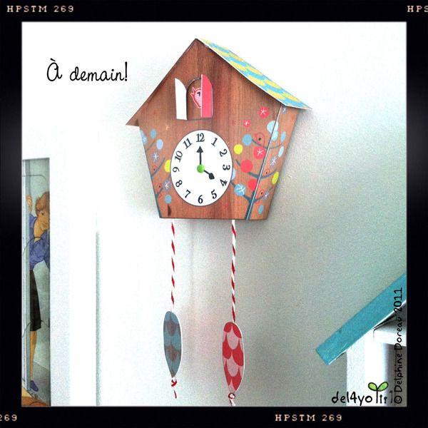 Make your own cuckoo clock Le lapin dans la lune Non dairy