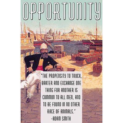 Buyenlarge 'Opportunity' by Wilbur Pierce Vintage Advertisement Size: