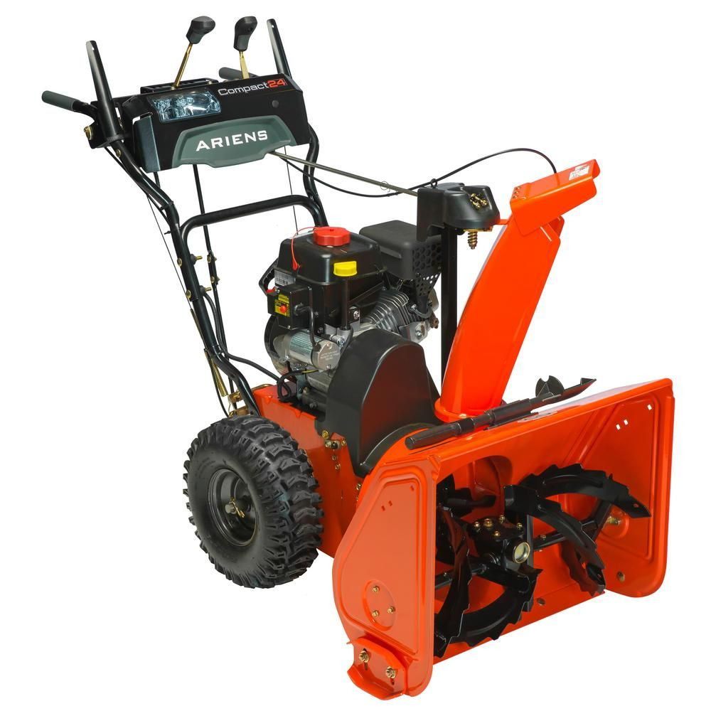 Ariens compact 24 in 2stage electric start gas snow