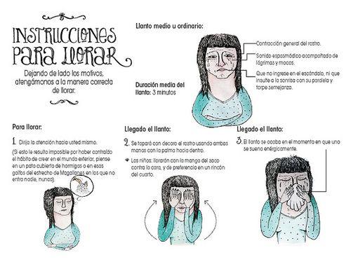 Instrucciones Para Llorar Julio Cortázar Del Libro Historias De Cronopios Y Famas Historias Para Llorar Llorar Cortazar