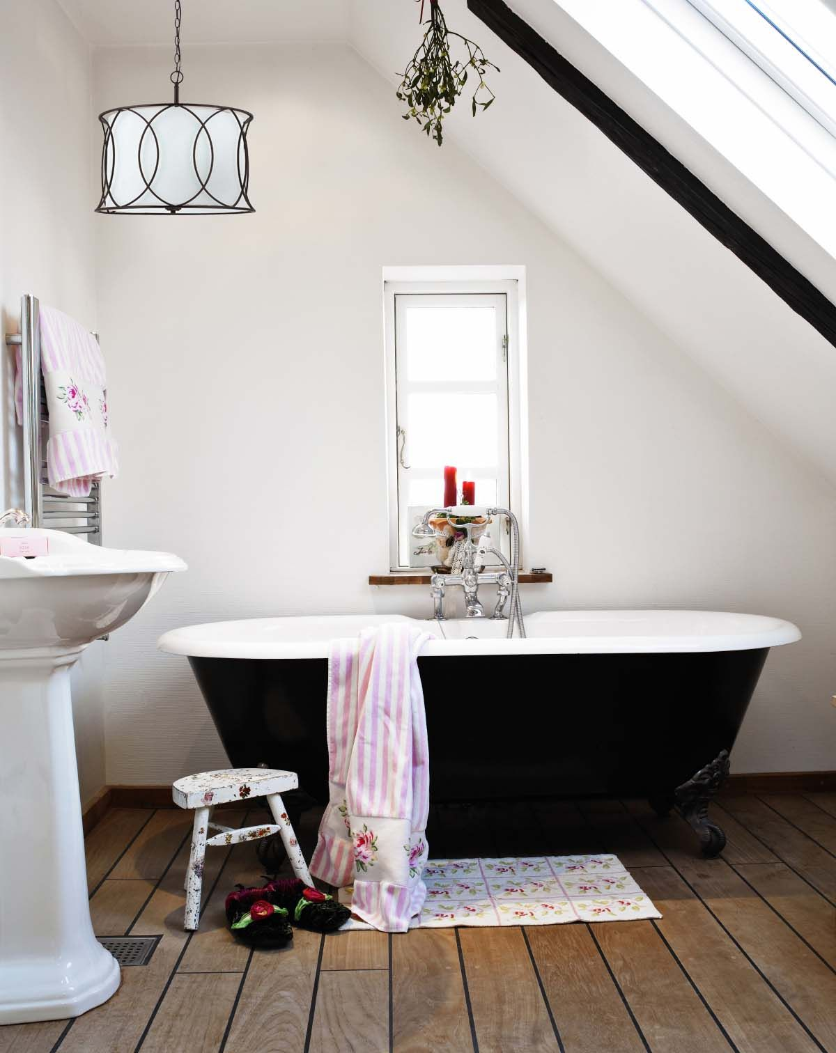 Canarm Monica #chandelier in bathroom. | Bathroom Inspiration ...