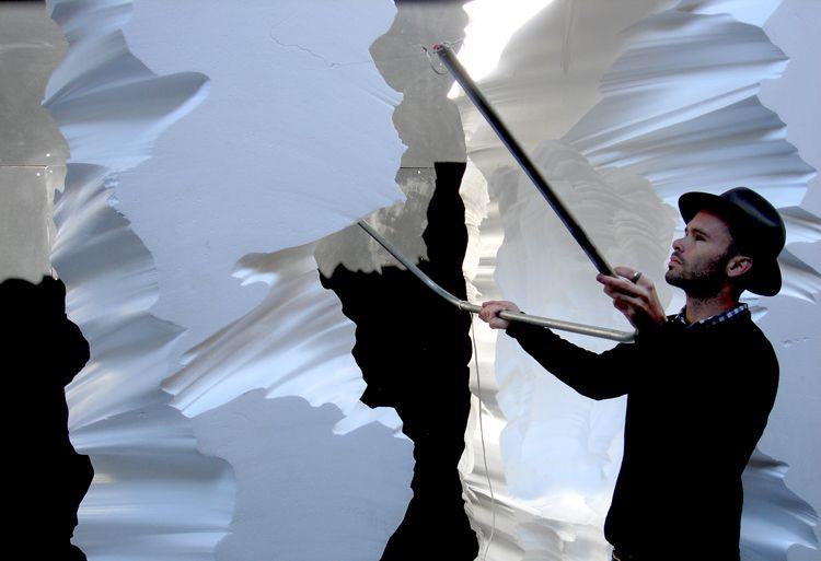 Snarkitecture Creates Styrofoam Ice Cave For Fashion It Boy Richard Chai Retail Design Richard Chai Pop Up Store