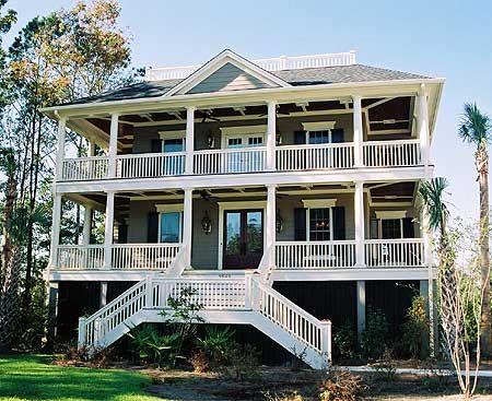 Plan RC Raisled Island Home