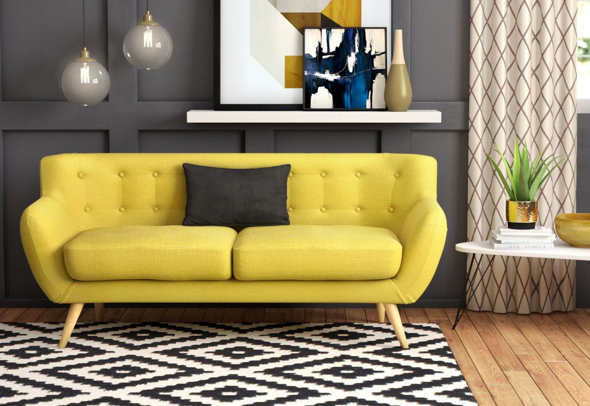 Best Meggie Sofa In 2019 Yellow Sofa Rooms Home Decor Blue 400 x 300