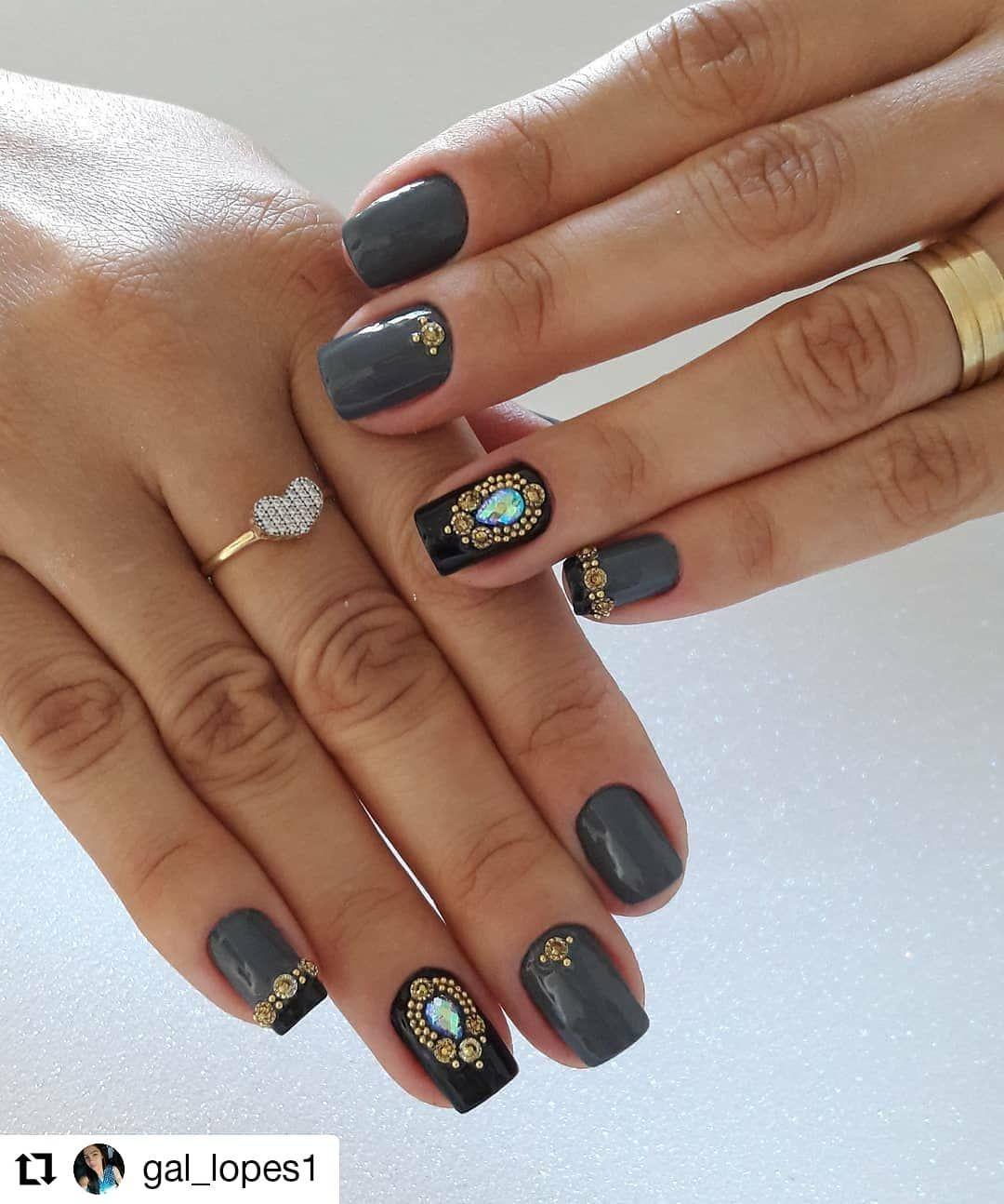 Repost Gal Lopes1 Nail Art Usando Cinza Milenio Da Avon Nails Nail Repost Gal Lopes1 Nail Art Usando Cin Avon Nails Swag Nails Nail Art