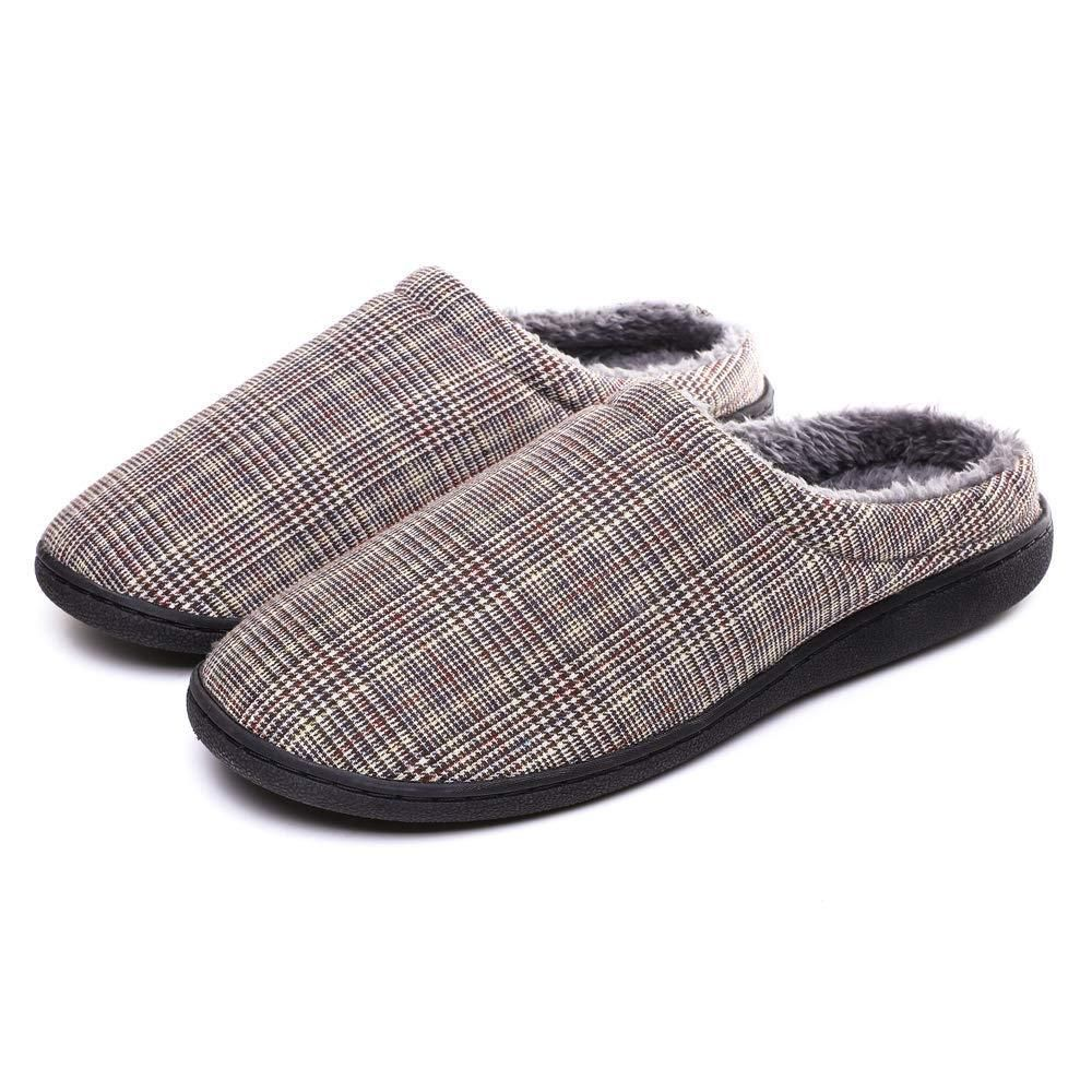 062a8488b37bf SCIEN Men's Women's House Slippers Lightweight Breathable Cotton ...