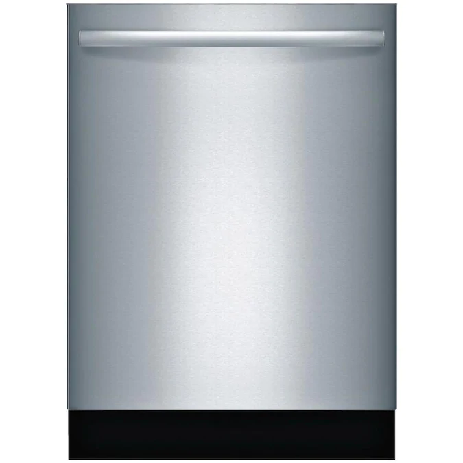 Bosch 800 44 Decibel Top Control 24 In Built In Dishwasher Stainless Steel Energy Star Ada Compliant Lowes Com Built In Dishwasher Integrated Dishwasher Bosch Dishwashers