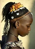 Unmarried Fulani girl from a herder family, Mali