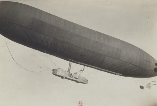 """1916 - Vue de """"La Lorraine"""" - Section de photographie aérienne du groupe des escadrilles du camp retranché de Paris"""