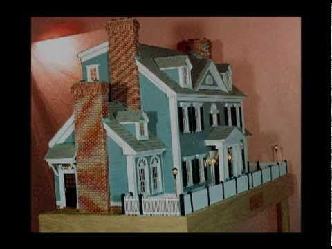 dollhouse, georgian-colonial model house - youtube | miniatures