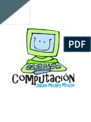 2 Basico Computacion Para Ninos Pdf Ventana Computacion Point And Click Apuntar Y Hacer Clic Computacion Clases De Computacion Clase De Informatica
