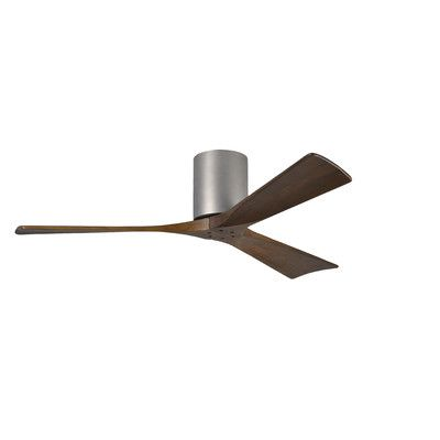 """Matthews Fan Company 52"""" Irene 3 Blade Ceiling Fan with Hand Held and Wall Remote & Reviews   Wayfair.ca"""