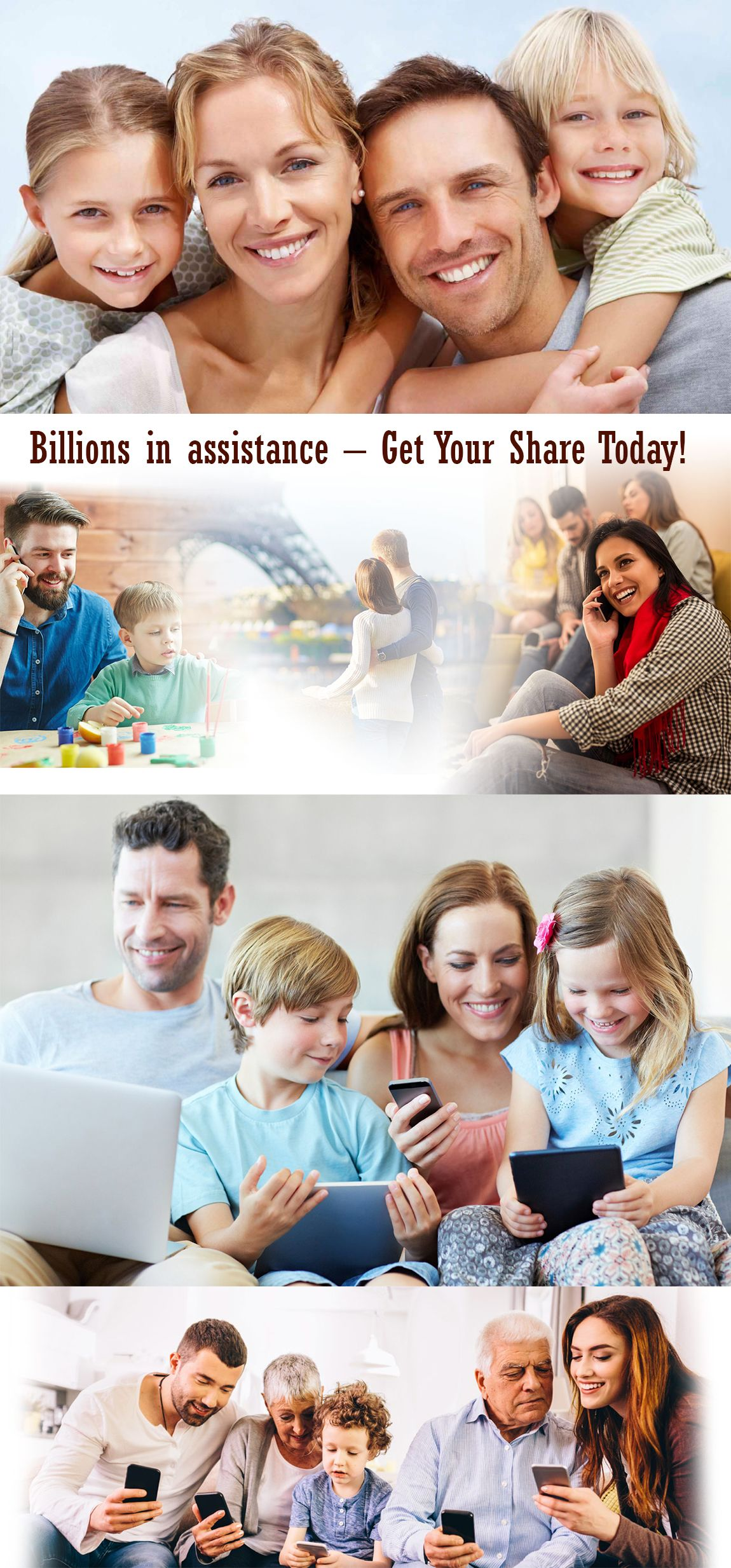 Get the assistance needed for your family immediately