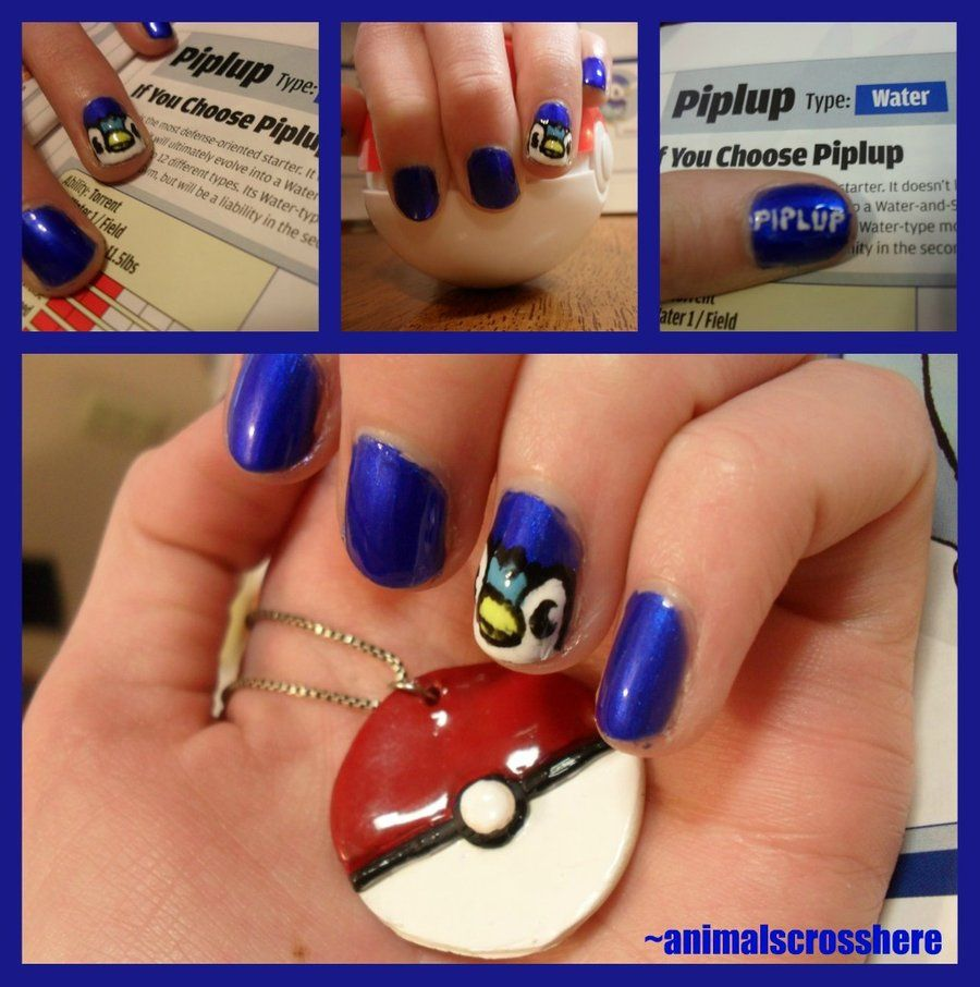 Sorry for posting nerdy nail art but I just can\'t help myself ...