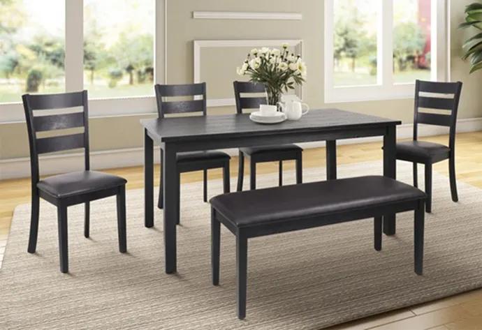 Table Avec 4 Chaises Et Banc Home Home Decor Furniture