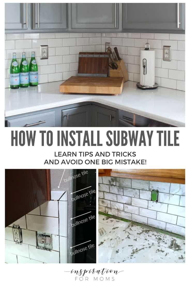 - Tips On How To Install Subway Tile Kitchen Backsplash Kitchen