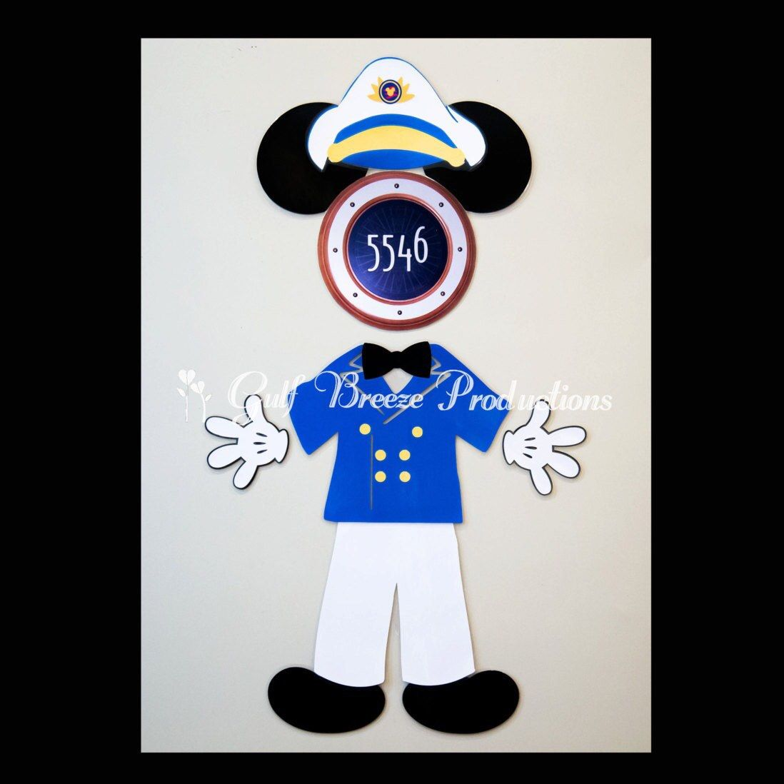 Captain Mickey Mouse Magnet for Disney Cruise Door by ...