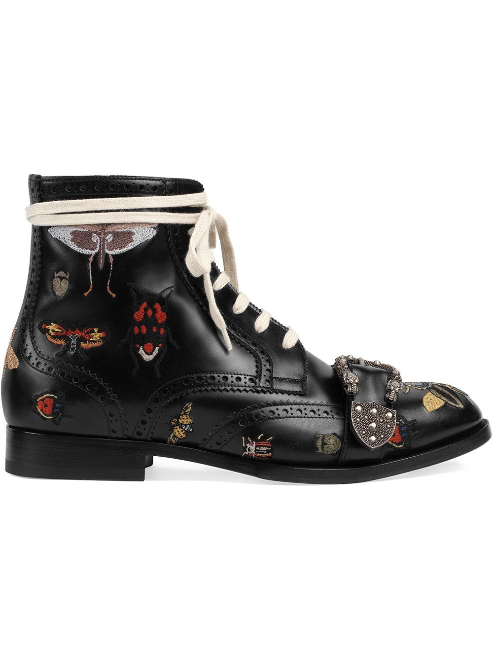 297c868b2 GUCCI | Queercore embroidered brogue boots #Shoes #GUCCI | Fashion ...