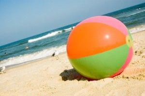 Beach ball on beach Bouncy Beach Ball Pinterest Beachball300x199jpg 300199 Summer Essentials Pinterest