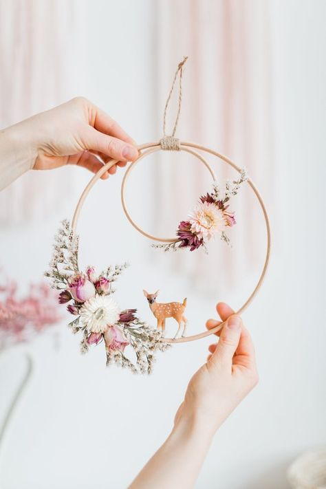 Photo of 49 Ideas for embroidery hoop wreath decor